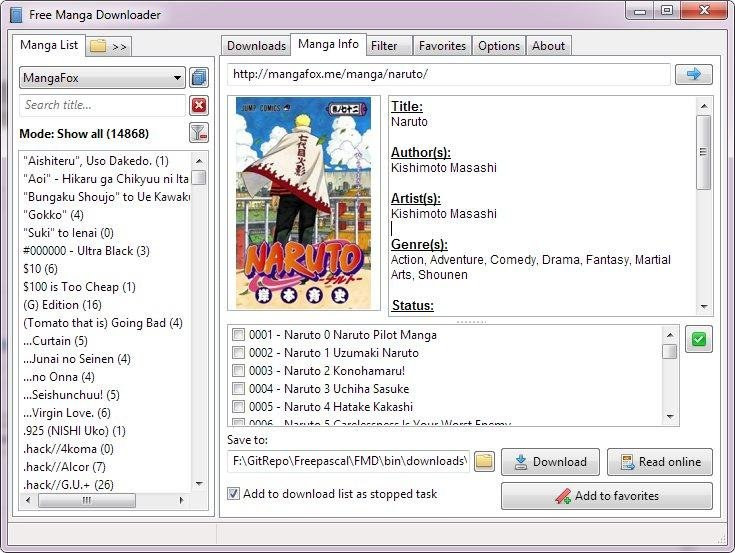 Free manga downloader alternatives and similar software.