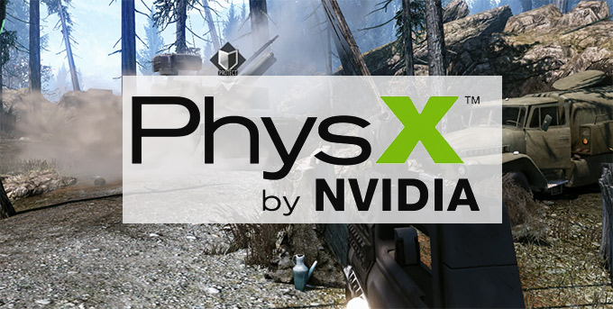 NVIDIA PhysX engine for games now is open source