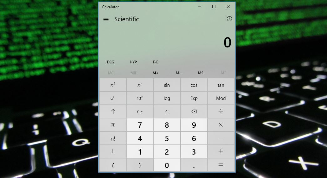 Windows Calculator now available as open source app